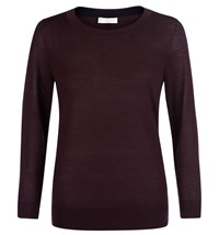 Hobbs Paper Clip Sweater Red