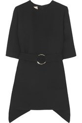 Marni Belted Wool Tunic Black