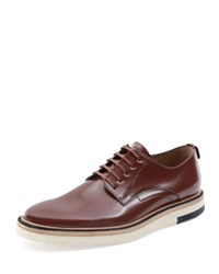 Fendi Hunting Lace Up Shoe Brown Grey