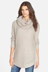Dreamers By Debut Cowl Neck Sweater Brown