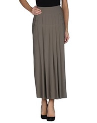 Crea Concept 3 4 Length Skirts Military Green