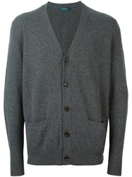 Polo Ralph Lauren V Neck Cardigan Grey