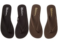 Cobian Nias 2 Pack Black Chocolate Women's Sandals