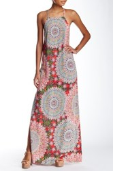 Loveriche Double Slit Maxi Dress Multi