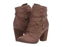 Not Rated Crunch Time Taupe Women's Boots