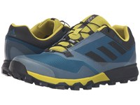 Adidas Terrex Trailmaker Tech Steel Black Unity Lime Men's Running Shoes Blue