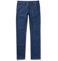 Berluti Washed Denim Jeans Mid Denim
