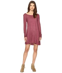 Billabong Same Day Dress Plum Berry Women's Dress Purple