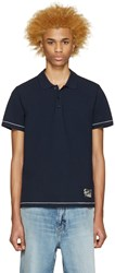 Marc Jacobs Navy Cotton Polo