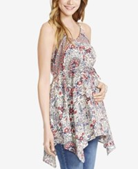 Jessica Simpson Maternity Printed Tank Top From Motherhood Maternity Multi Print