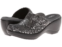 Softwalk Murietta Black Pewter Women's Clog Shoes