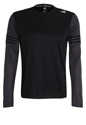 Adidas Performance Response Long Sleeved Top Black Utility Black