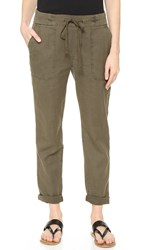 James Perse Slim Pique Trousers Platoon