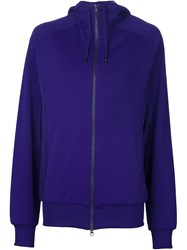 Y 3 Zip Sports Jacket Pink And Purple
