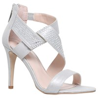 Carvela Graft High Heel Sandals Silver