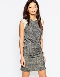 By Zoe By Zoe June Dress With Pleated Front Black
