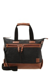 Your Turn Tote Bag Washed Black Cognac