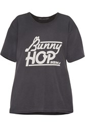 Marc By Marc Jacobs Bunny Hop Cotton T Shirt Gray