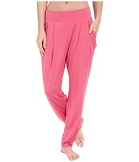 Ugg Irene Lounge Pants Sunset Red Heather Women's Casual Pants Pink