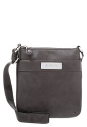 Guess Across Body Bag Dark Grey Dark Gray