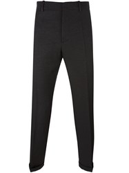 Marni Straight Leg Trousers Black
