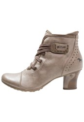 Mustang Ankle Boots Taupe