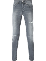 Dondup Distressed Jeans Grey