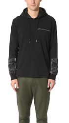 Ovadia And Sons Pullover Patch Hoodie Black Camo