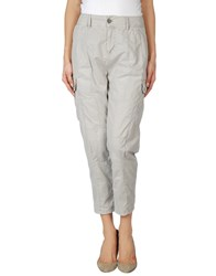 Gold Case Trousers 3 4 Length Trousers Women Dove Grey