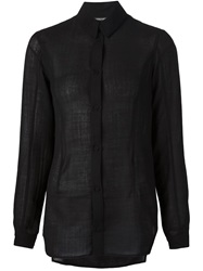 Alexandre Plokhov Long Sleeve Shirt Black