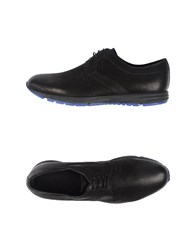 Armani Collezioni Footwear Lace Up Shoes Men Black