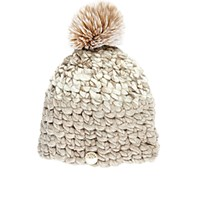 Mischa Lampert Women's Deep Beanie Tan