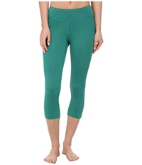 New Balance Spree Capri Seagreen Heather Women's Capri