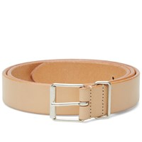 Andersons Anderson's Slim Leather Belt Tan