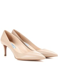 Prada Patent Leather Pumps Neutrals
