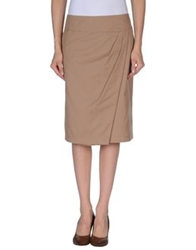 Windsor. Knee Length Skirts Camel