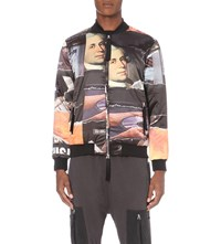 Blood Brother Corten Satin Jacket All Over Print