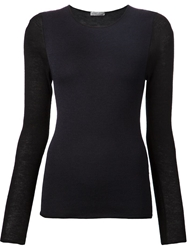 Denis Colomb Panelled Sweater