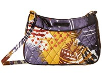 Vera Bradley Little Crossbody Painted Feathers Cross Body Handbags Multi