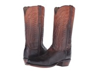 Lucchese Montgomery Peanut Brittle Cowboy Boots Brown