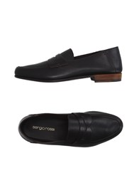 Sergio Rossi Footwear Moccasins Men Dark Brown