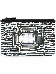 Pierre Hardy 'Gem Pouch' Clutch Black