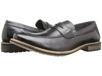 Lotus Jensen Black Leather Men's Shoes