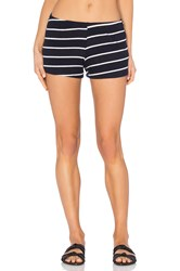 Michael Lauren Eddy Sweatshort Navy