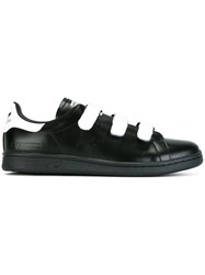 Raf Simons Adidas By Velcro Straps Sneakers Black