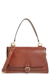 Mulberry 'Small Buckle' Leather Shoulder Bag Brown Oak