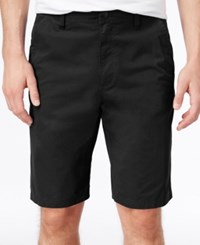 Hawke And Co. Outfitter Hake And Co. Outfitter Men's Flat Front Stretch Shorts Blk Tie