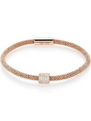 Links Of London Star Dust Bead Bracelet Rose Gold