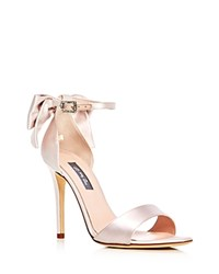 Sarah Jessica Parker Sjp By Trance Bow Sandals Pink