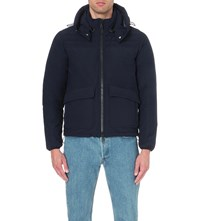 Orlebar Brown Hendry Hooded Jacket Navy Grey Steel